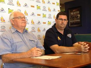 Roosters CEO flies into Rockhampton and talks with Capras