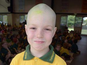 Damon's Brave Shave - March 2015