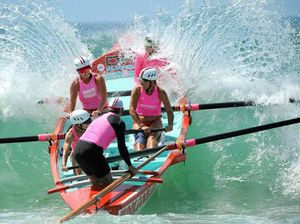 Woolgoolga rides on crest of wave to claim surf boat series