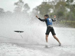 Brothers use time to refine waterskiing skills