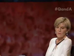 Julie Bishop asked if she would go topless for Bali Nine duo