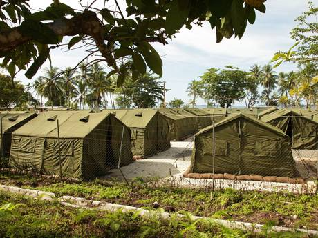Facilities at the Manus Island Regional Processing Facility