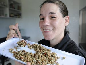 Chef helps inspire healthy living