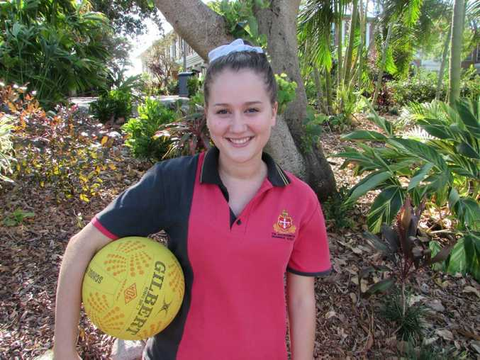 Madi Dean will debut in the Senior A Netball competition for Angels Titans. Photo Jenna Johnstone / Morning Bulletin