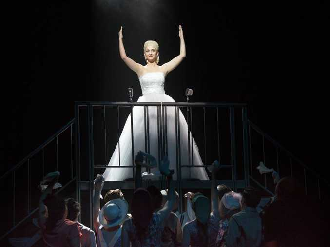 Rockhampton performer Claire Duffy will take the lead role in the musical Evita. Photo: Contributed