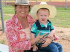 GOOD FUN: Tash Moffett and James Potts from Kilcoy at the Toogoolawah Campdraft last Friday.
