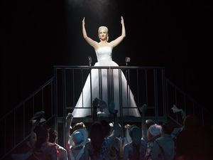 Evita takes the stage