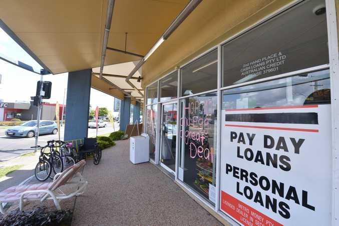A pawn broker shop was broken into. Photo: John McCutcheon / Sunshine Coast Daily