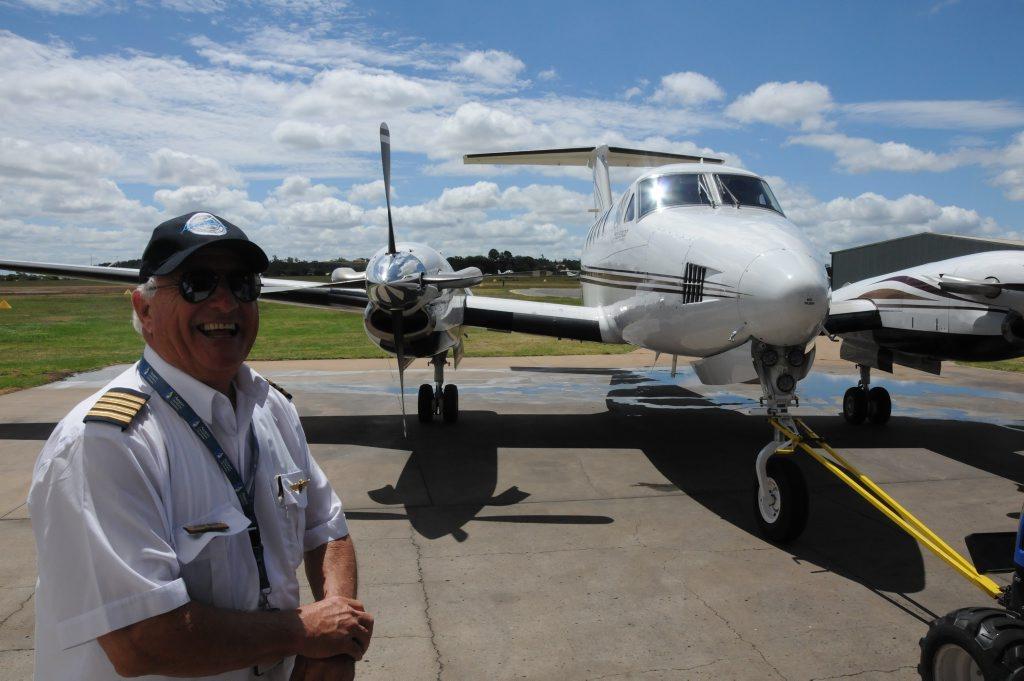 Toowoomba pilot John Bain reflects on his emergency landing at Toowoomba Airport.