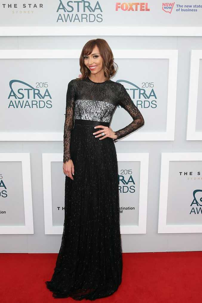 Giuliana Rancic arrives at the 2015 ASTRA Awards at the Star in Sydney.