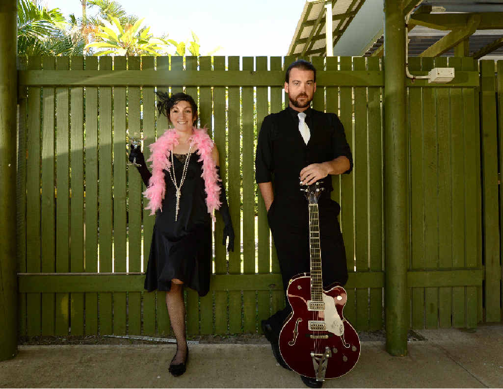 JAZZ SOUNDS: Lenna-Maree Moxey and Johnny Tyler, of the Lenna-Maree Moxey Jazz quartet, will perform next week.