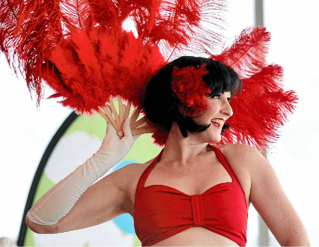 CABARET: Jenny Usher and performers from Jazz Age Dance Cabaret will sing and dance their way through the ages.