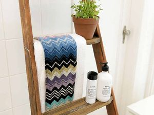 Weekend DIY: how to make a towel airer