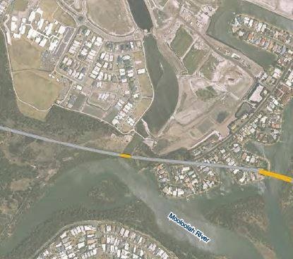 The proposed Mooloolah River Interchange plans.