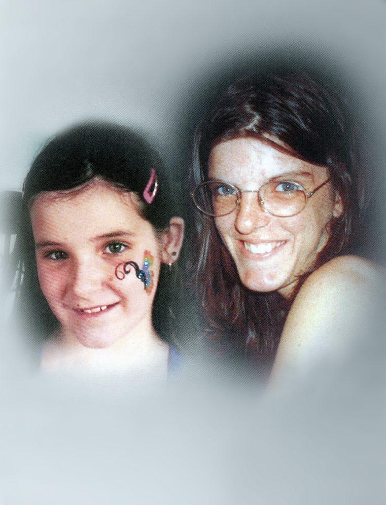 Ebonie Perks (left) and mother Melanie Perks.