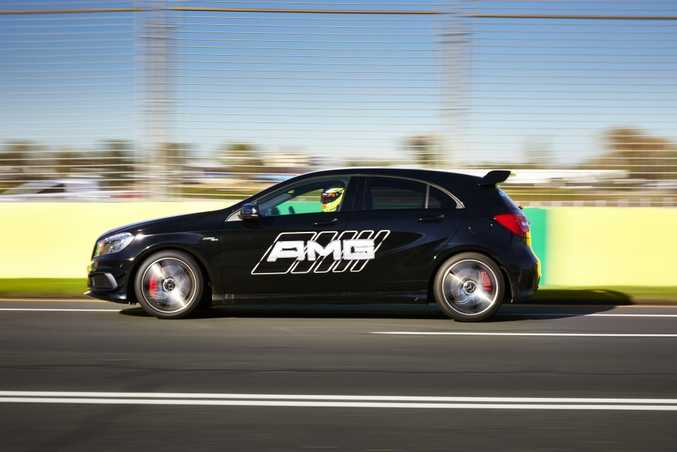 We got a chance to sample the Albert Park track in Mercedes-AMG offerings.