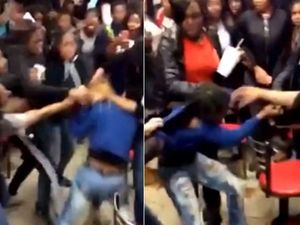 VIDEO: Gang of teens bash girl, 15, in McDonald's