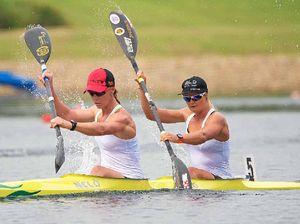 Burnett and Bull win gold at the Canoe Sprint Championships