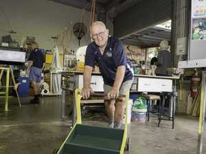 Men's Shed doing it for the kids