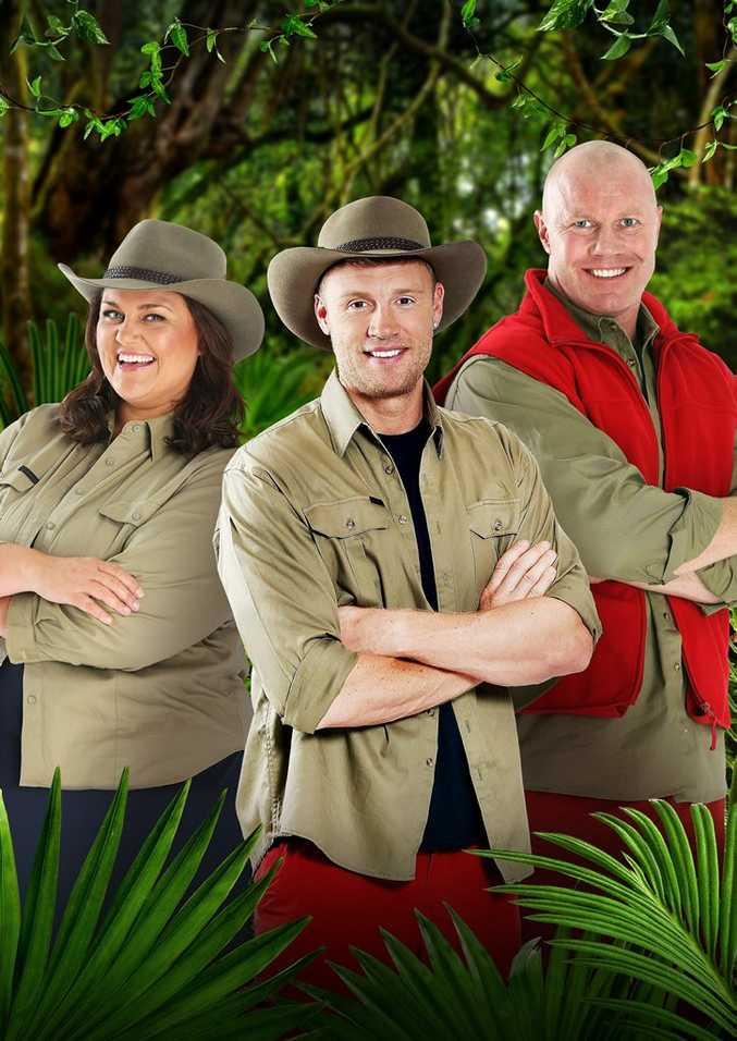I'm A Celebrity... Get Me Out of Here! finalists Chrissie Swan, Andrew