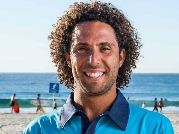 SUPER MARIO: Former Sunshine Coast lifeguard Mario Marfella, 33, is the first Italian lifeguard to star in the latest Bondi Rescue television series.