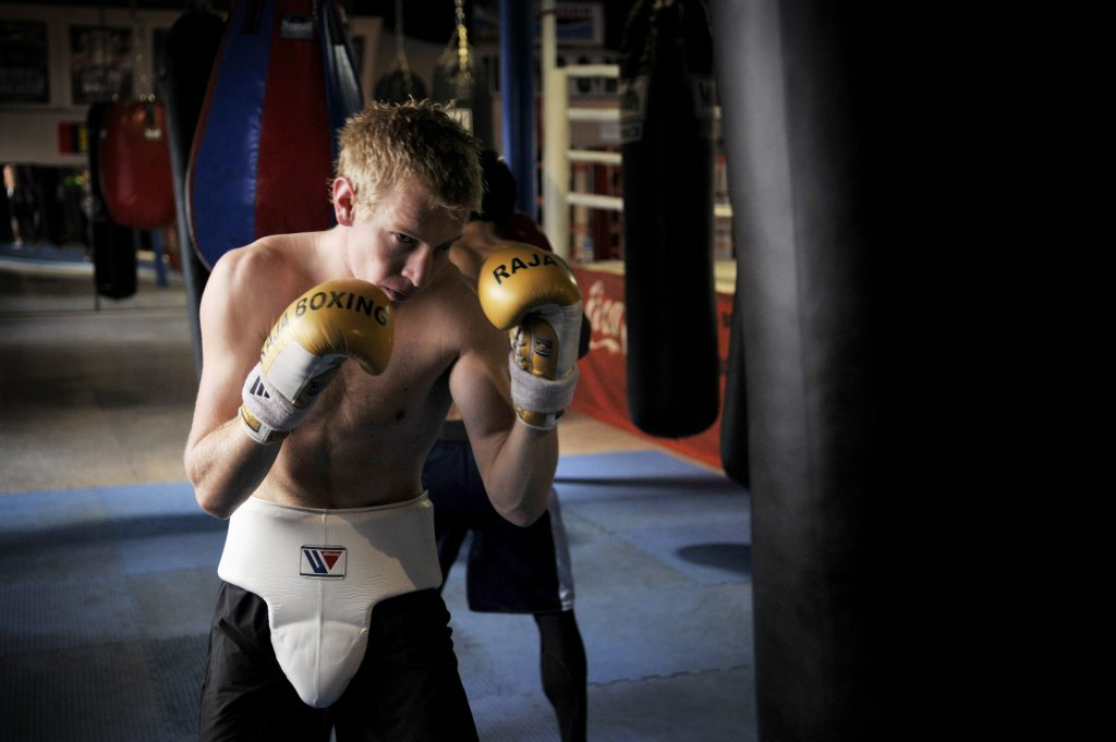 Braydon Smith - Boxing. Photo Dave Noonan / The Chronicle