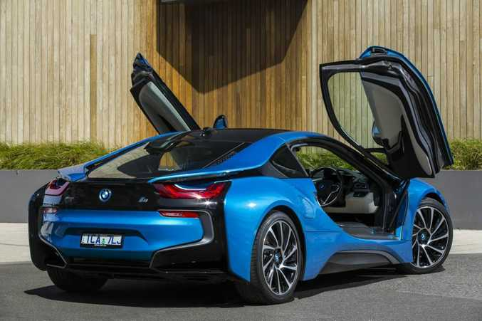 ELECTRIC CHARGE: BMW i8 sold to 61 Australian buyers in 2015.