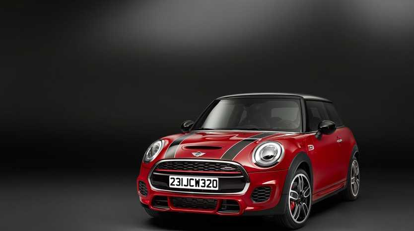 The 2015 Mini John Cooper Works edition.