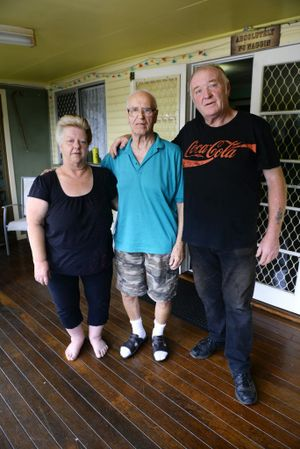88-year-old Arthur Sommerford has had his Visa application rejected and is being threatened to be sent to live in a detention centre. He is currently staying with his daughter Susan Smith (left) and son-in-law Gordon Smith.