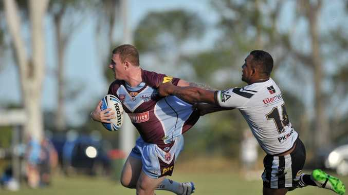 Matt Minto playing at Gary Larson Oval, Miriam Vale, in the Central Queensland Capras versus Souths Logan Magpies Queensland Cup match. Photo Jake Jones / The Observer