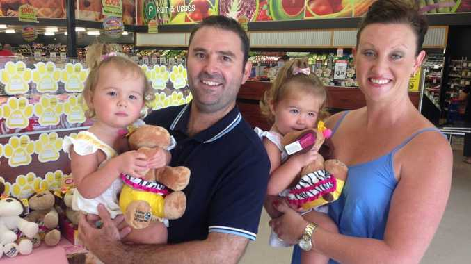 The Vanstone family at Bundaberg North Supa IGA.