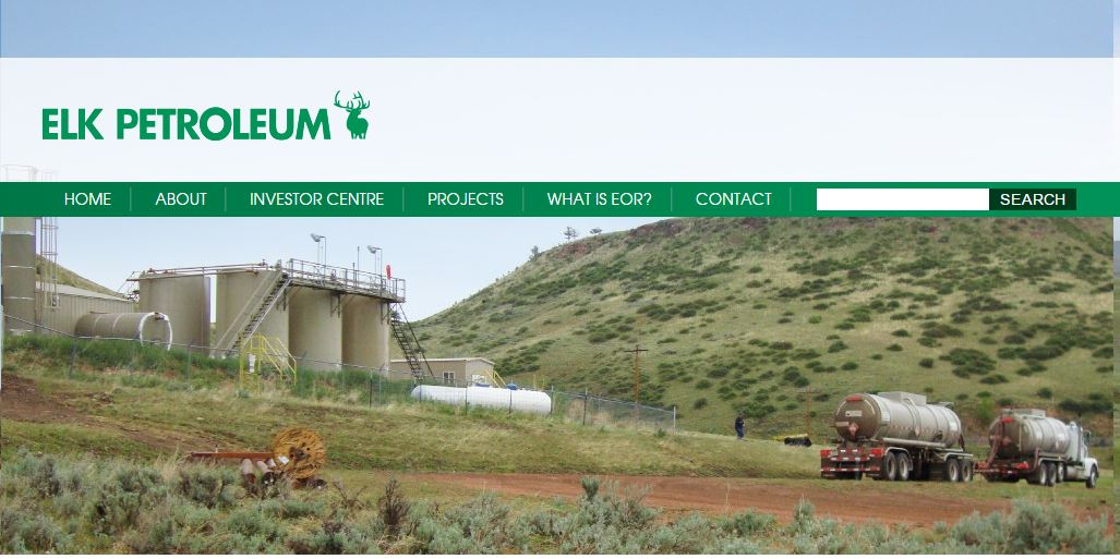 The Elk Petroleum homepage