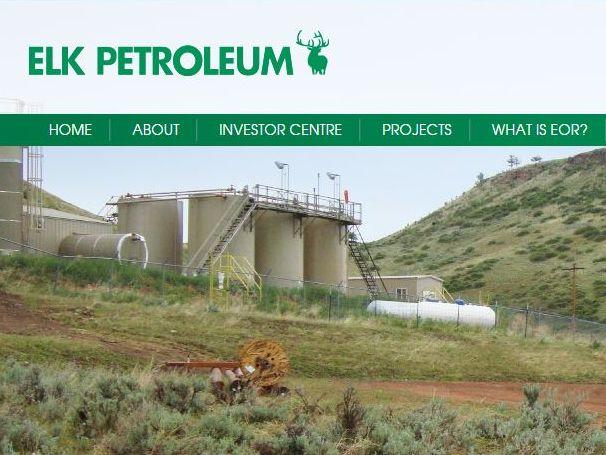 The Elk Petroleum homepage