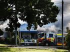 VIDEO: Smoke billows as East Lismore home goes up in flames