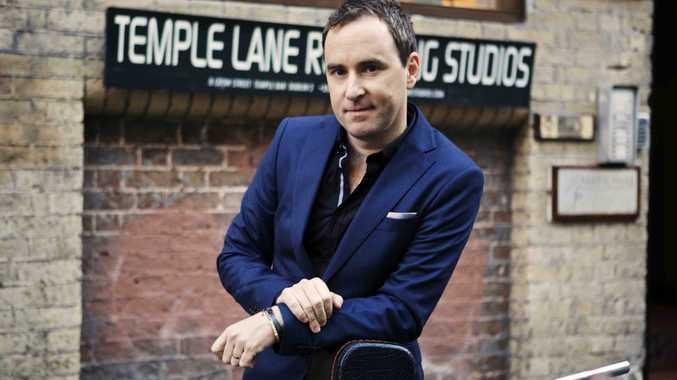 Singer Damien Leith pictured outside Temple Lane Studios in Dublin, Ireland.