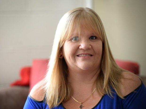 Michelle Norton is raising awareness of cancer. Photo Allan Reinikka / The Morning Bulletin