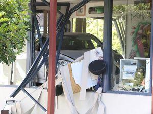 Car crashes through Kuluin tattoo shop