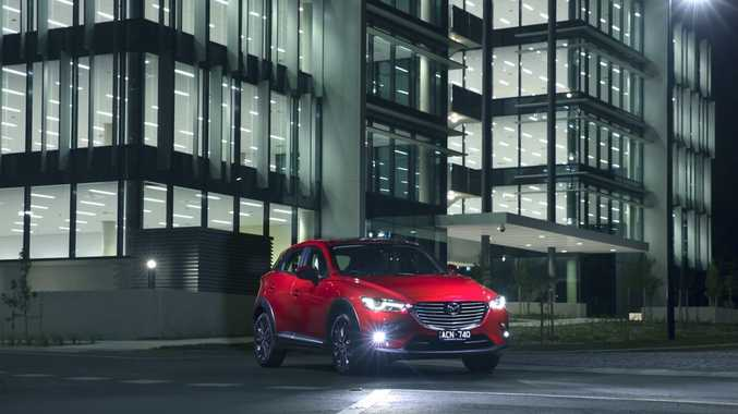 The new Mazda CX-3.