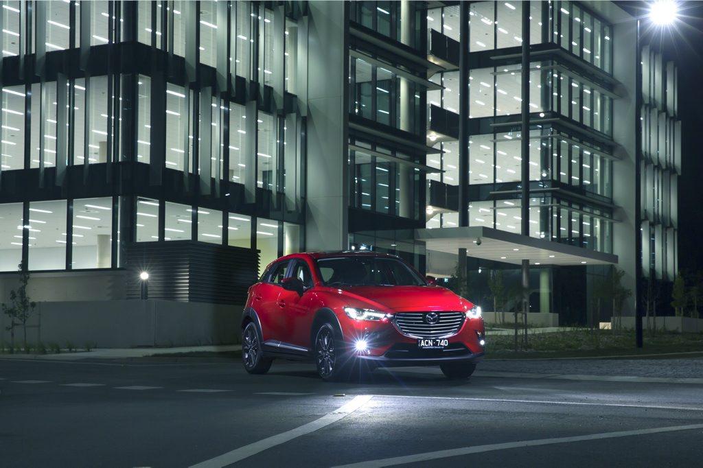 The new Mazda CX-3.