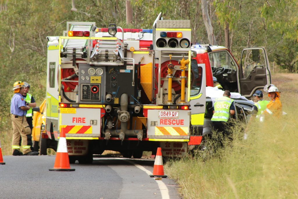 An 89-year-old Lockyer Valley man was killed after his car veered off the road and into a tree on Rosewood-Laidley Rd this morning.