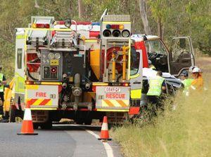 Lockyer Valley man killed in crash near Laidley