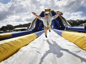 Toowoomba Royal Show to host giant waterslide