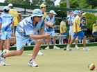 IN ACTION: Kris Lehfeldt (Ballina) during the NRDBA No 1 pennants game between South Lismore and Ballina, at the South Lismore Bowling Club.