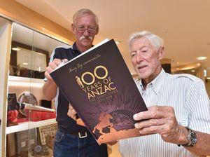 Hervey Bay ANZAC book launch