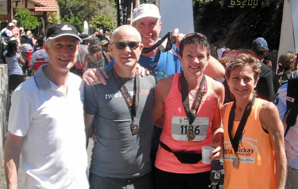 Andy List, Martin Lambert, Matt Stevens, Karen Low and Janelle Tilse took part.