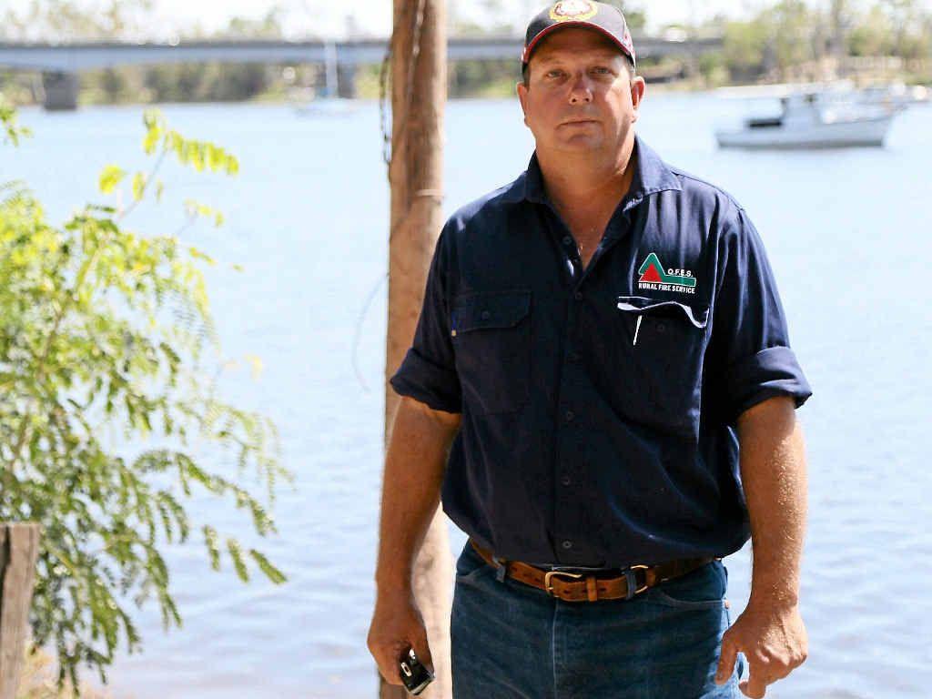 REGIONAL HERO: Owen Buckle of the Alton Downs Rural Fire Brigade helped the Rockhampton region in the weeks following Cyclone Marcia.