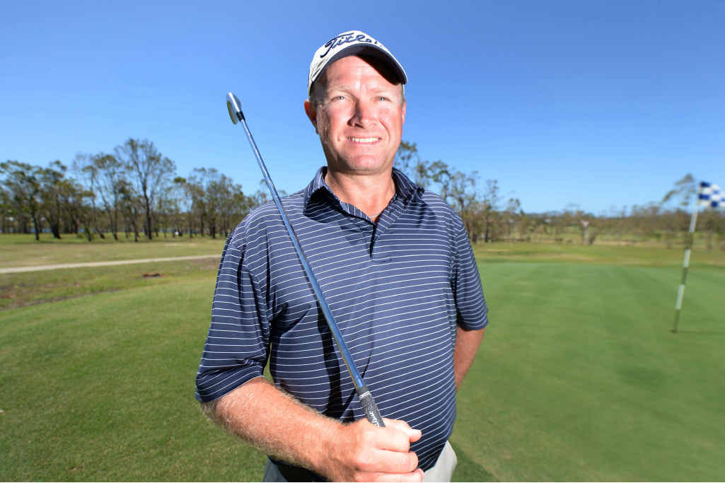 A NEW COURSE: Club professional Graham Sheppard is pleased that the pro-am golf tournament will be held at the Yeppoon Golf Course this year.