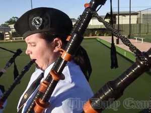 GDSC Pipe Band win