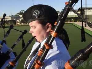 GDSC Pipe Band win