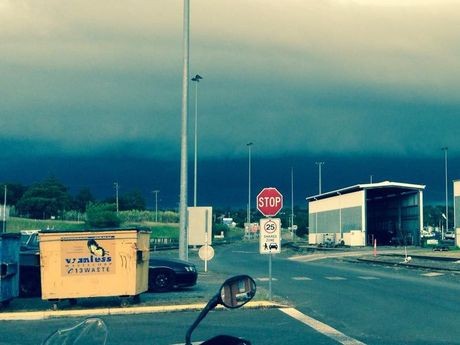 Thunderstorms near Toowoomba, taken by Glenn John McLeod.